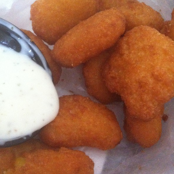 Corn Nuggets With Ranch