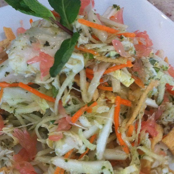 Thai Crab & Pomelo Salad @ The Rotunda (Neiman Marcus)