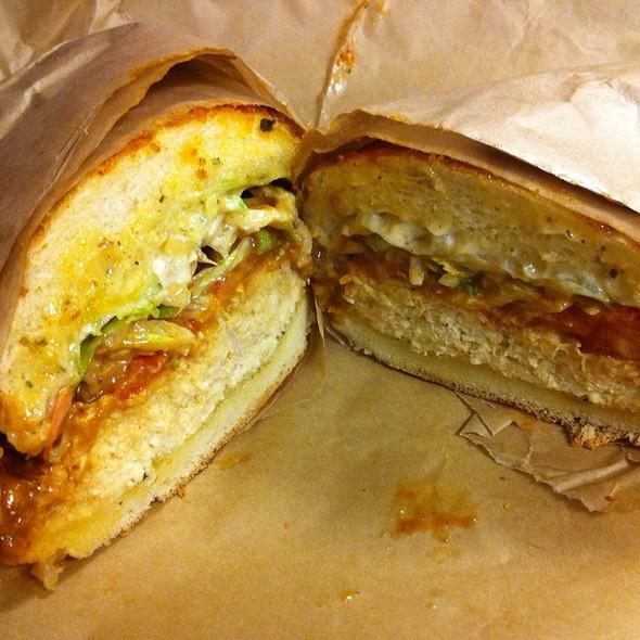 Menage A Trois Sandwich @ Ike's Lair
