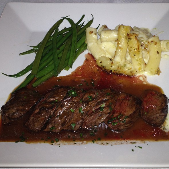 Grilled Meyer Ranch Hangar Steak @ Gianmarco's Restaurant
