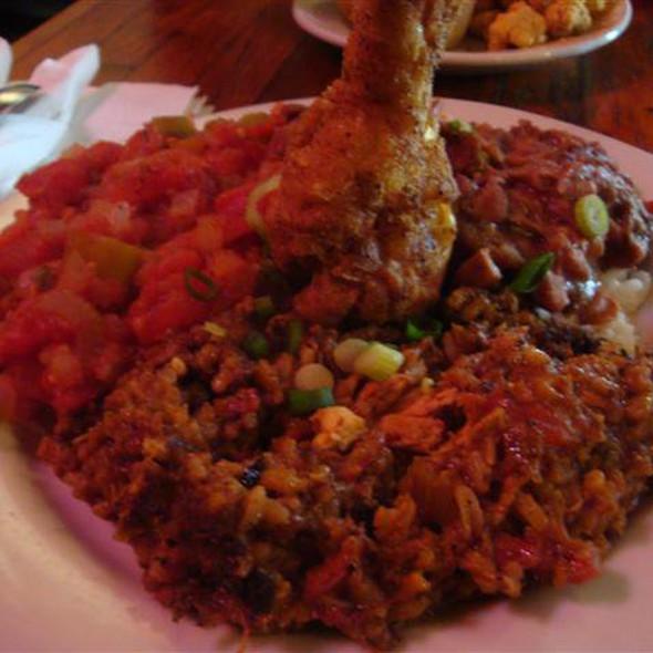 Coop's Taste Plate @ Coop's Place