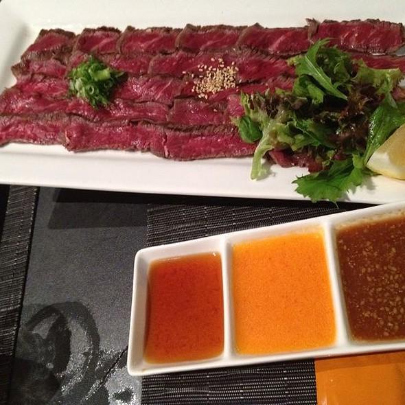 Beef Tataki @ Jurin Japanese Restaurant