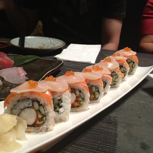 Salmon sushi @ Jurin Japanese Restaurant