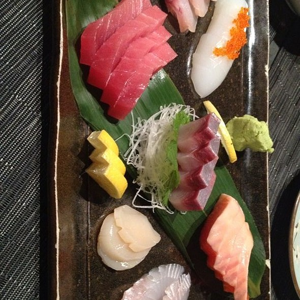 assorted sashimi @ Jurin Japanese Restaurant