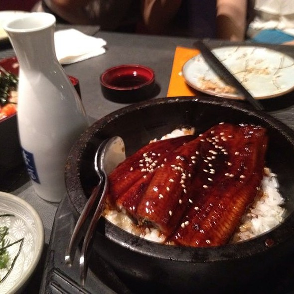 Grilled Eel on a Bed of Rice