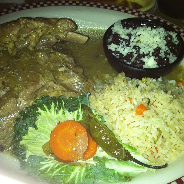 Green Chile Ribs @ Red Iguana 2