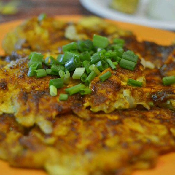Fried Carrot Cake @ Chey Sua Carrot Cake