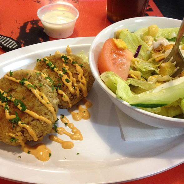 Crab Cakes @ Island Cafe