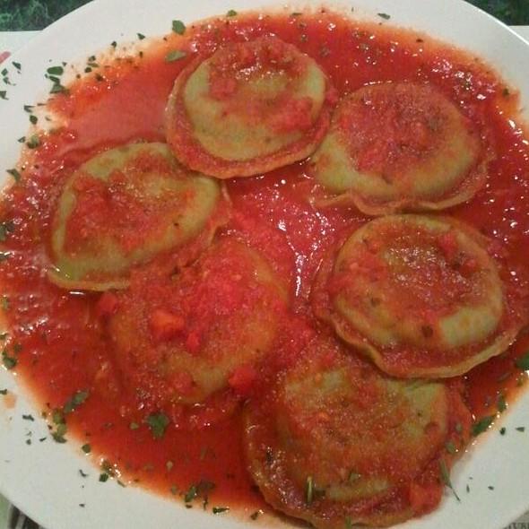Spinach Ravioli @ Mama Rosa's