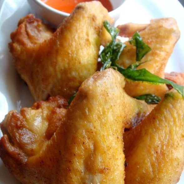 Fried Chicken Wings @ Home