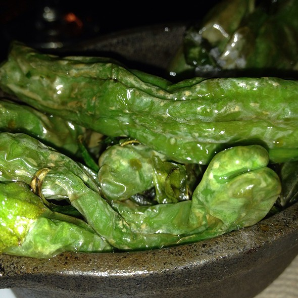 Blistered Shishito Peppers (Special) @ the local craft food & drink