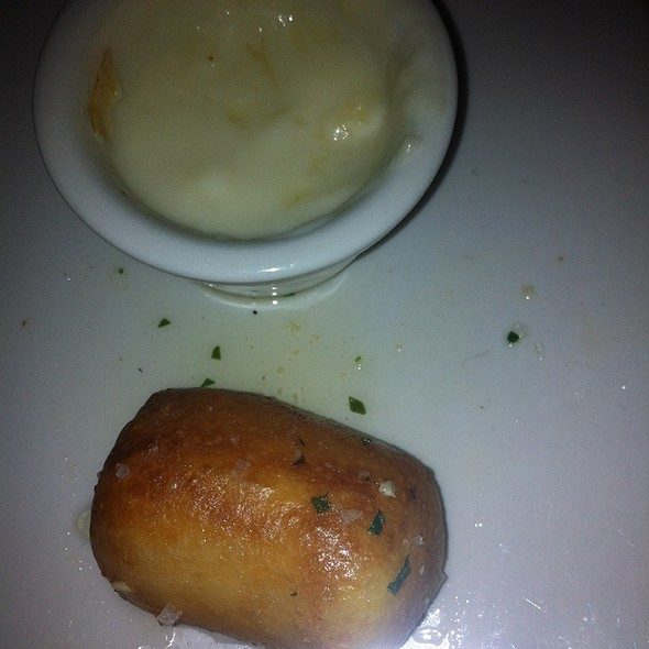 Parm Garlic Pretzels W Beer Cheese Soup Dip @ Absinthe Brasserie & Bar