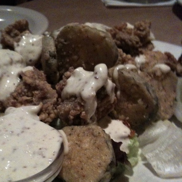 Fried Oysters & Pickles @ Bonefish Grill