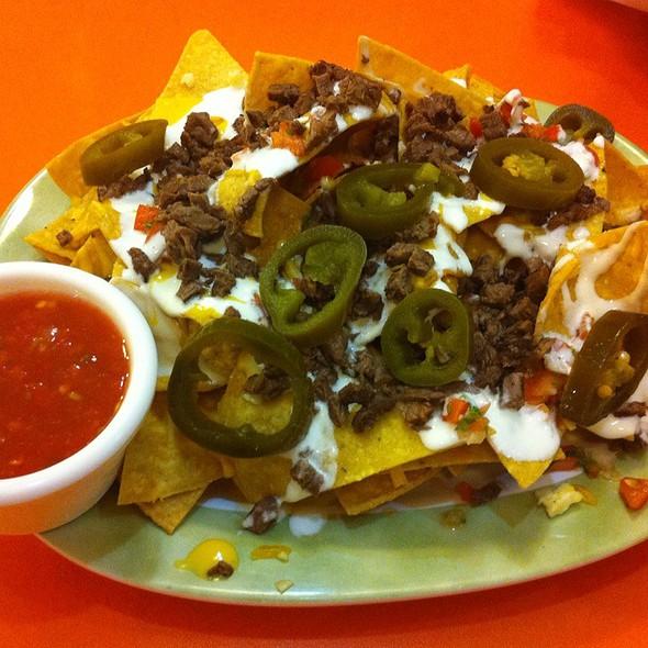 how to make asada nachos