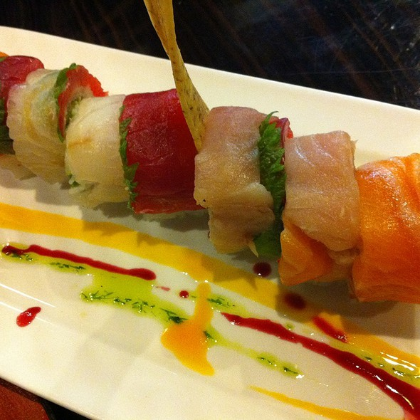 Rainbow Roll @ GOKAKU Restaurant
