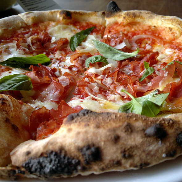 Pizza Diavola @ NOVO Pizzeria & Wine Bar | Authentic Neapolitan Pizza in Vancouver