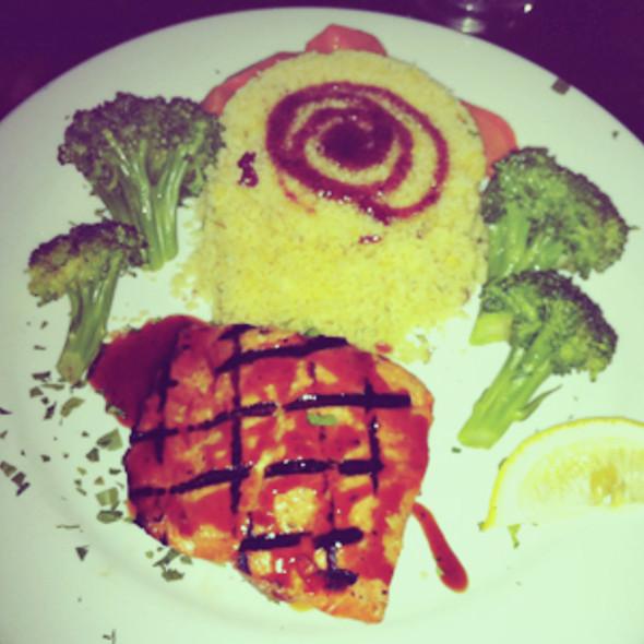 Grilled Pacific Salmon @ Xai Verandah Lounge