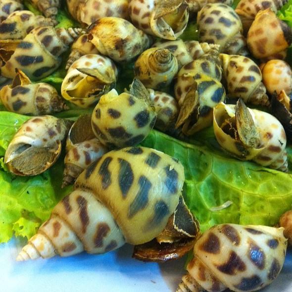 Grilled Conch Shell @ Seng Thai Seafood Restaurant Hua Hin