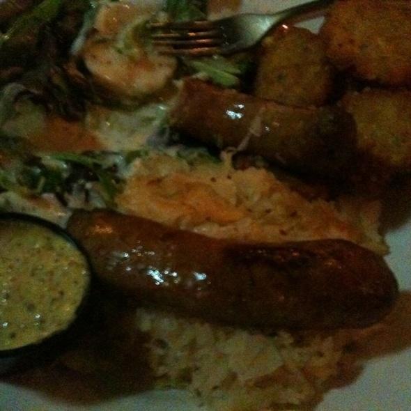bratwurst @ Tyler's Restaurant & Taproom