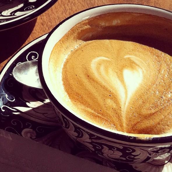 Skim Milk Cappuccino  @ La Colombe Torrefaction