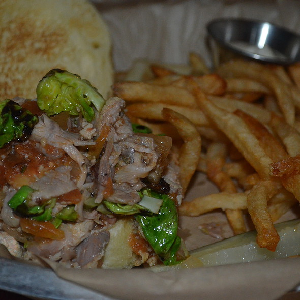 Porchetta Sandwich @ Contigo Austin