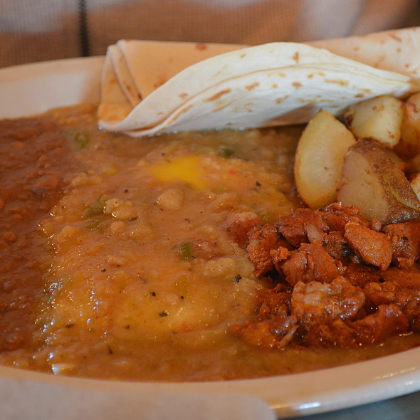New Mexico Green Chili Breakfast @ Mi Madre's Restaurant