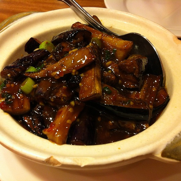 Fish Flavored Eggplant Casserole @ Red Chilli House