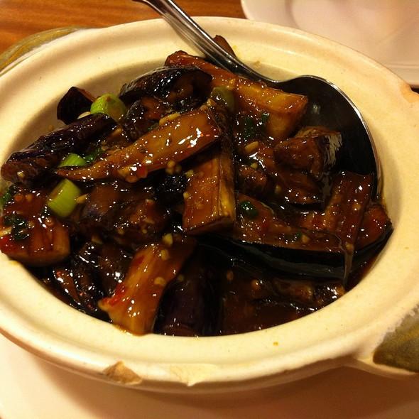 Fish Flavored Eggplant Casserole @ Red Chilli House
