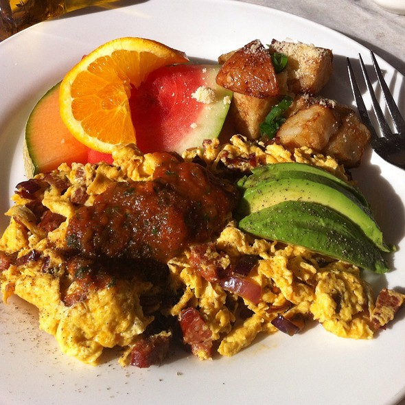 Chorizo Scramble - Magic Flute, San Francisco, CA