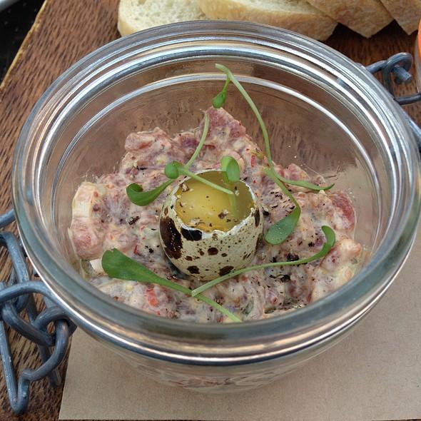 Steak Tartare With Quail Egg - BLT Steak at Camelback Inn, A JW Marriott Resort, Scottsdale, AZ