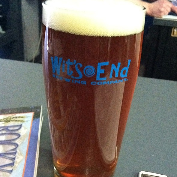 Wit's End Green Man @ Wit's End Brewing Company