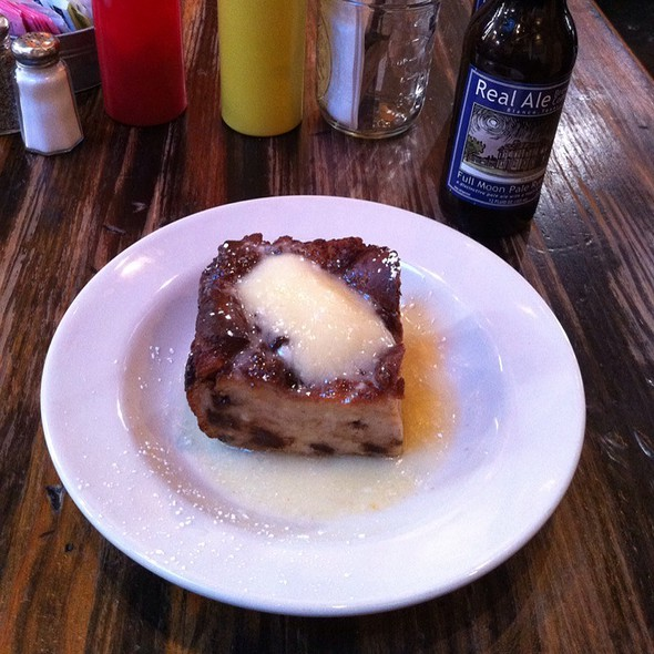 Chocolate Bread Pudding @ Frank Grocery