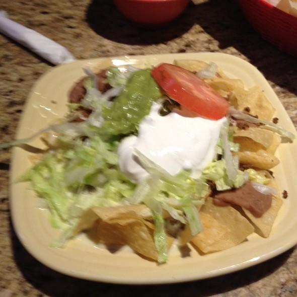 Supream Natchos At El Patio Mexican Restaurant