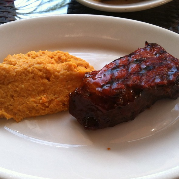 Bbq Tri-Tip Steak @ Wood Ranch Bbq & Grill