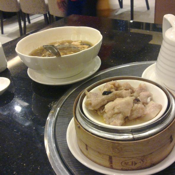Steamed Spareribs with Black Bean on Rice @ David's Tea House, A. Venue Mall