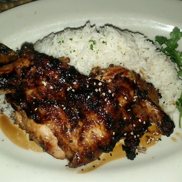 Teriyaki Chicken @ Cheesecake Factory Restaurant The