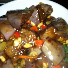 Chinese Eggplant With Thai Basil