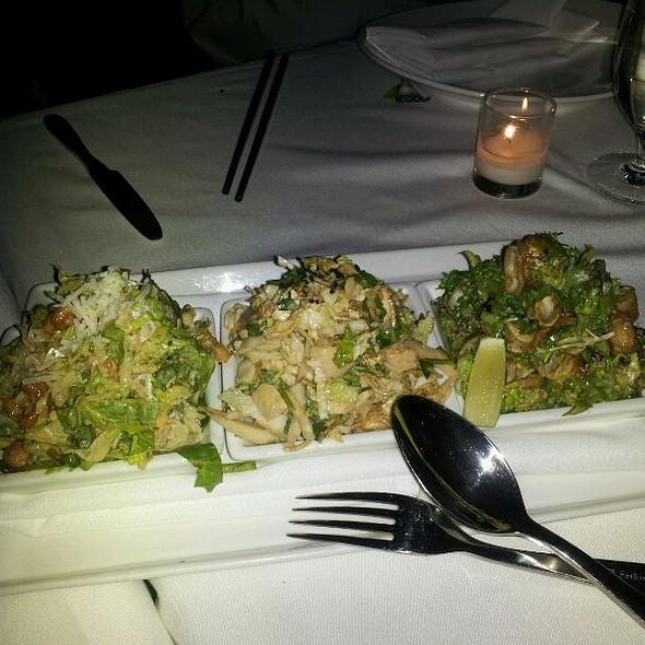Three Salads, Chicken, Ceasar And Calamari @ China Grill
