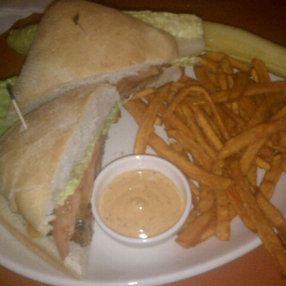 Classic Burger With Sweet Potato Fries @ Taylor's People's Park