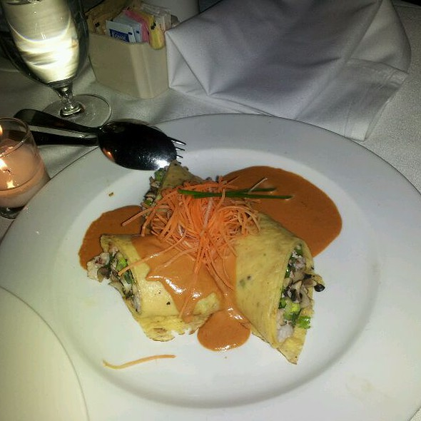 Lobster pancakes @ China Grill
