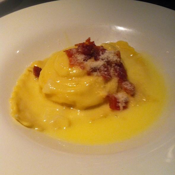 Egg Raviolo @ Acero Ristorante