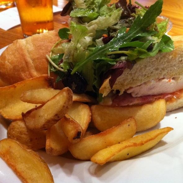 Club Sandwich @ The Garden Terrance