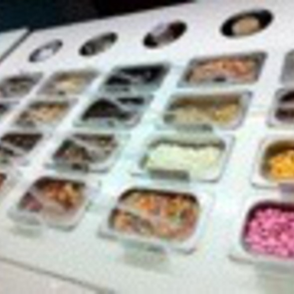 Assorted Frozen Yogurt Toppings @ Pinkberry