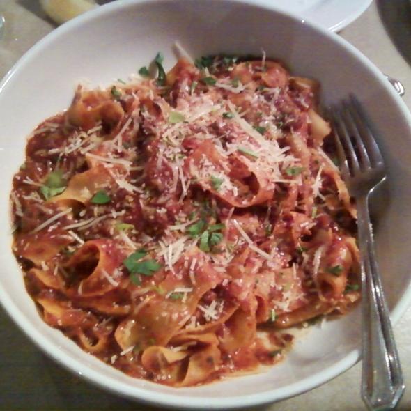 Pasta Bolognese @ Gratziano's Restaurant