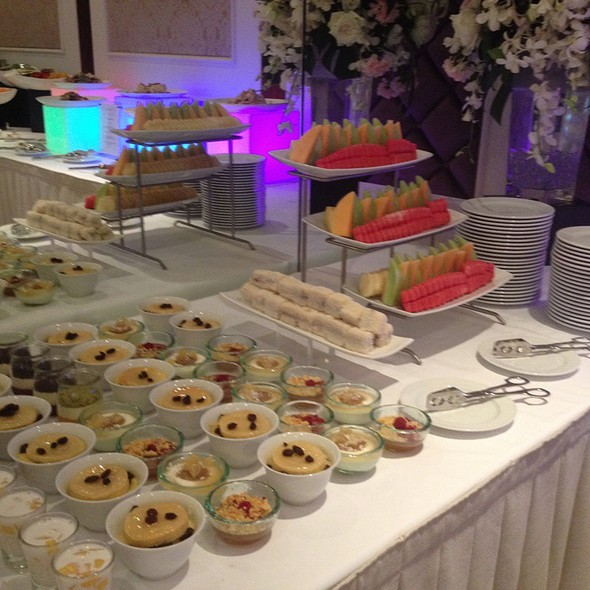 Dessert Wedding Menu @ Wedding Party At Lebua At State Tower
