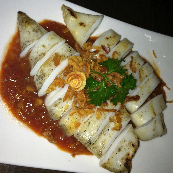 Calamari with Chili Tofu Sauce - Obao, New York, NY