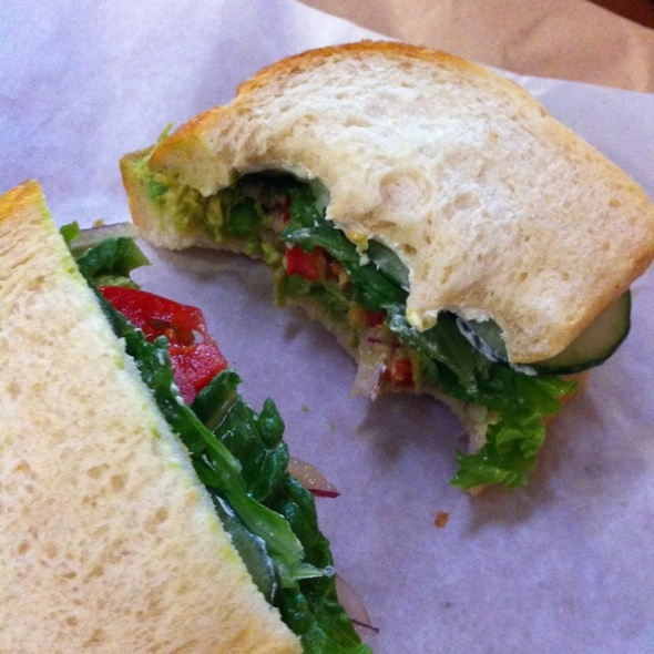 Veggie Sandwich @ Muzio's Grocery & Deli