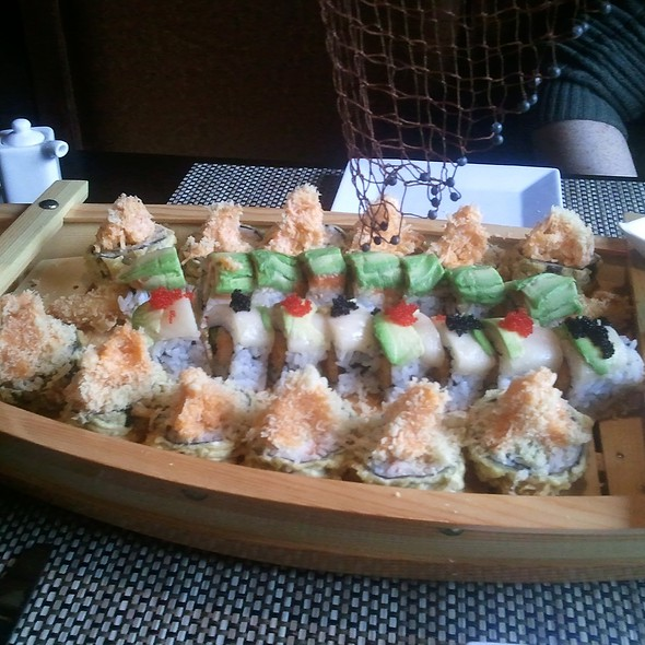 Sushi Boat @ Wild East Pan-Asian Bistro