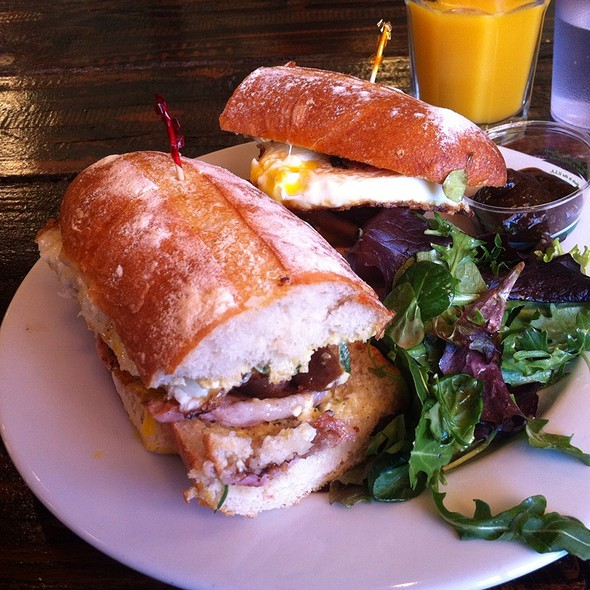 Irish Breakfast Sandwich @ Beachside Coffee Bar & Kitchen