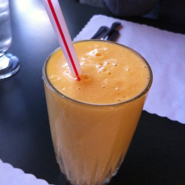 mango lassi @ Touch of Asia